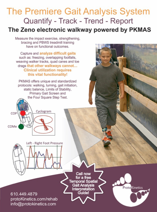 Parkinsons Disease Progression >> Zeno Walkway & PKMAS for Physical Therapists » ProtoKinetics